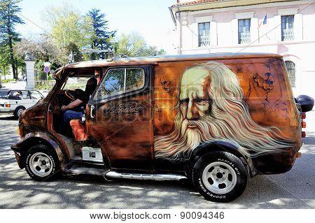 Van Bedford 1980 Painted