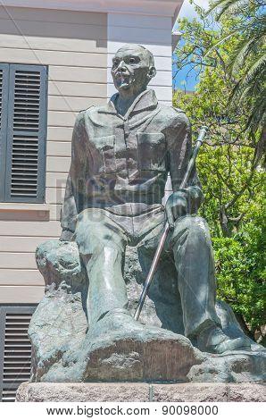 Statue Of Jan Christiaan Smuts
