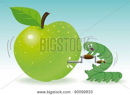Drilling Apple