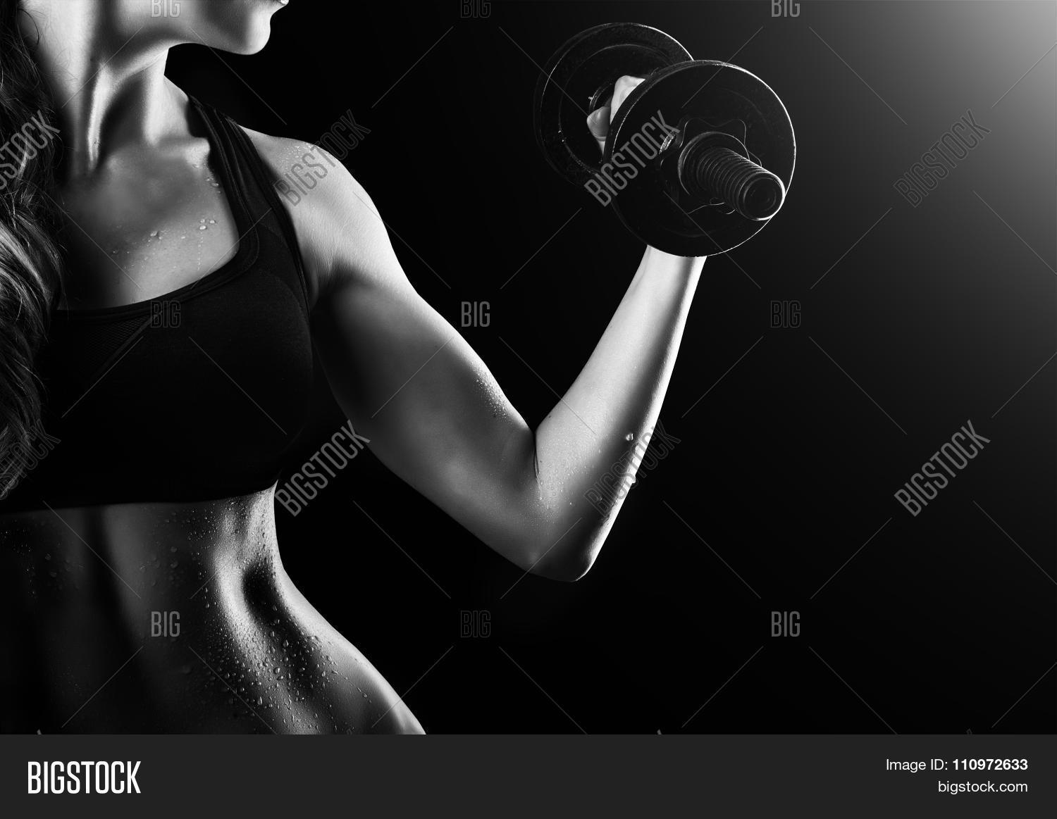 Female Muscular Arms Image Photo Free Trial Bigstock