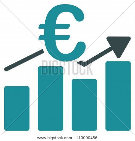 Euro Business Chart Icon