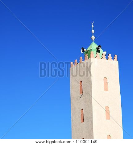 The History  Symbol  In Morocco  Africa  Minaret Religion And  Blue    Sky