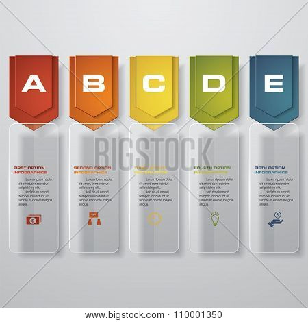 Design transparency banners template. Vector.