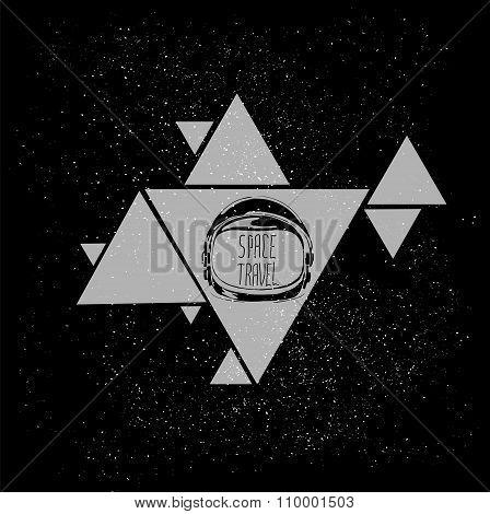 space helmet triangle