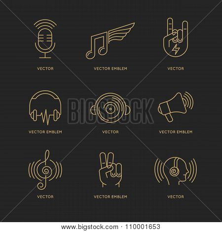 Vector Set Of Logo Design Templates