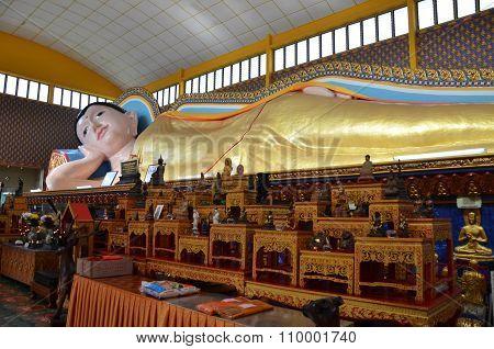 Thai Buddhist Temple In Penang Malaysia