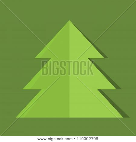 Illustration Of Christmas Greeting Card. Vector