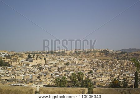 View of Fez, Morocco