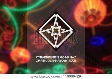 Asian religious ornament
