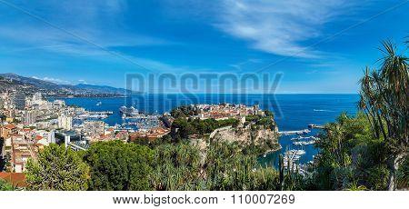 Prince's Palace In Monte Carlo, Monaco
