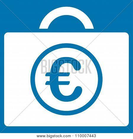 Euro Baggage Icon