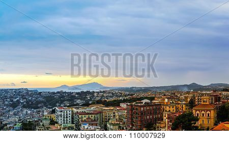 Sunset Over Naples