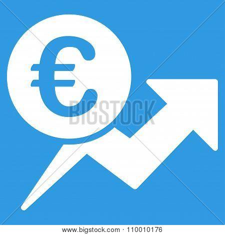 Euro Sales Growth Icon