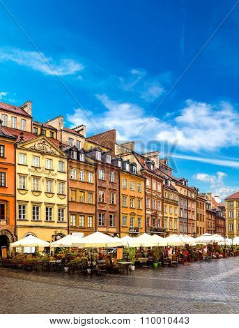 Old Town Square In Warsaw