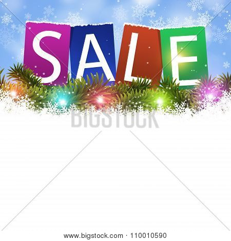 Holiday Sale Card