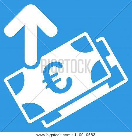Spend Euro Banknotes Icon