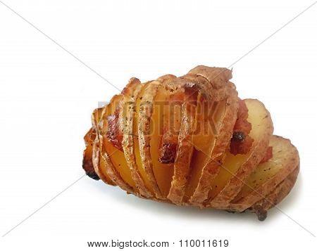 Swedish Potato Hasselback