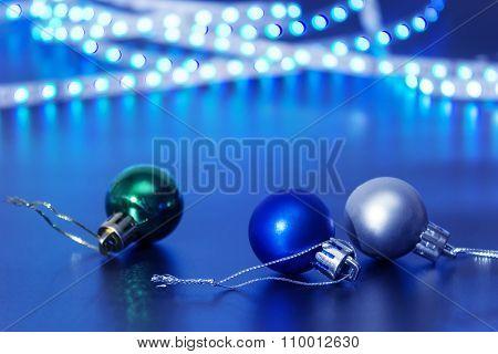 Three Christmas Ball
