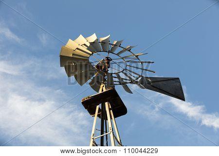Old Windmill In Leo Carrillo Park