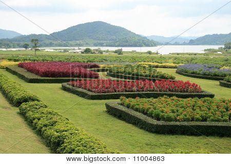 Garden in Thailand.