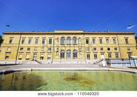 The Public And University Library In Neuchatel