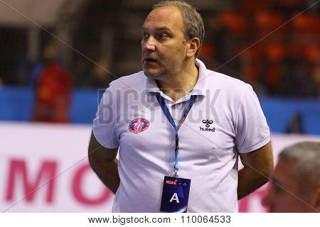 Nikolay Stepanets, Head Coach Of Motor Handball Team