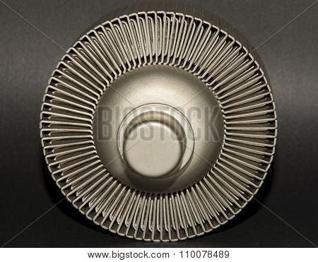 High power ceramic external anode vacuum tube poster