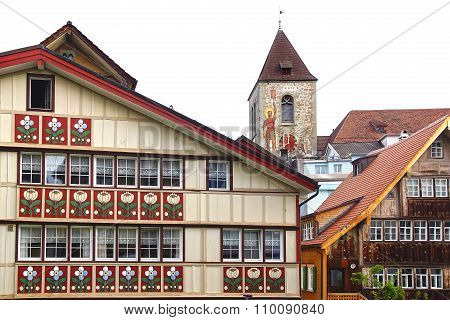 The Medieval Town Centre. Appenzell