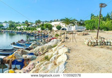 The Fishing Boats In Carthage