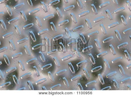 Hrome Metal Background