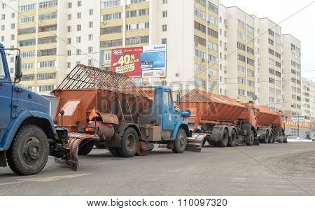 Russian Snow Clearing Machines