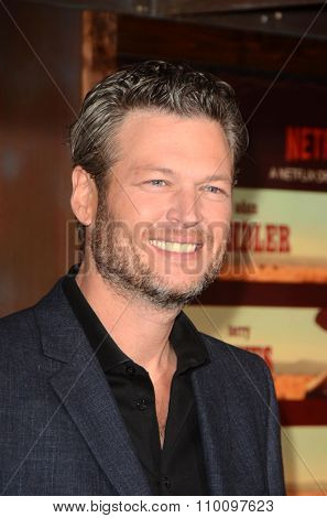 LOS ANGELES - NOV 30:  Blake Shelton at the