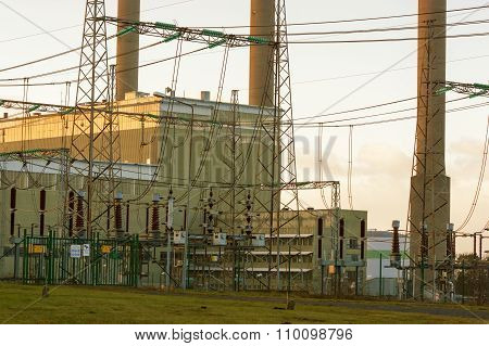 Oil Fired Thermal Power Station