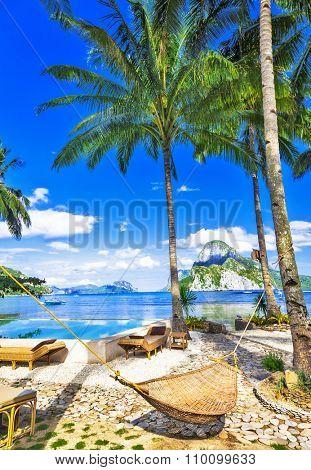 tropical luxury holidays in El Nido. Philippines