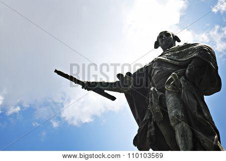 Spanish King Carlos or Charles IV Monument