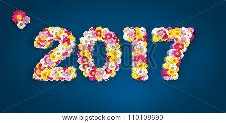 Floral Typo 2017