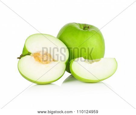 Jujube Fruit Isolated On White Background