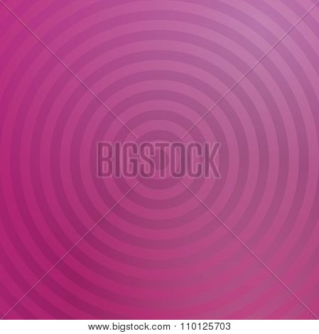 Pink background design with concentric circles