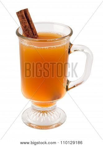 Apple Cider And Cinnamon Stick