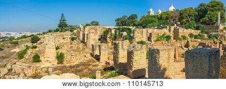 Panorama Of Byrsa Hill