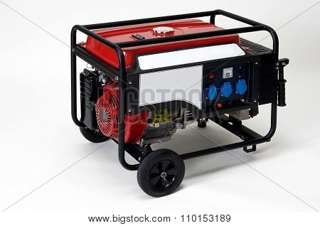 Portable Electric  Generator Isolated
