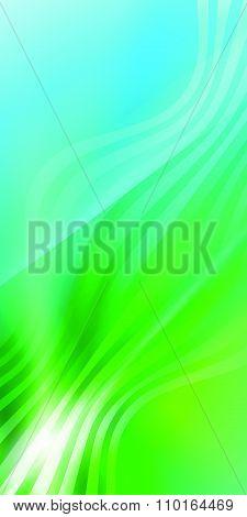 Elegant Background Blue Green Wave Line Light