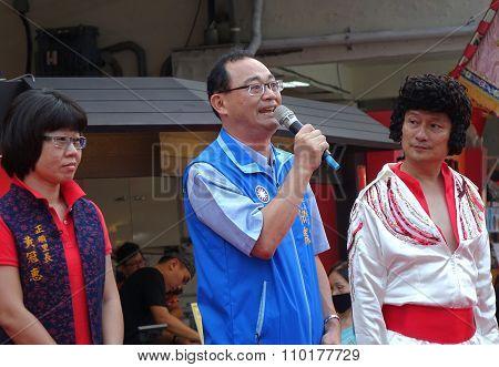 Kaohsiung City Counsel Member Huang Bo-ling