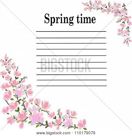 spring pink cherry lyrics