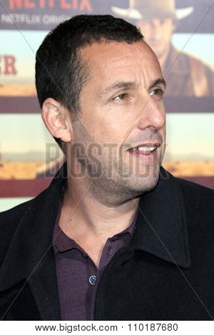 LOS ANGELES - NOV 30:  Adam Sandler at the