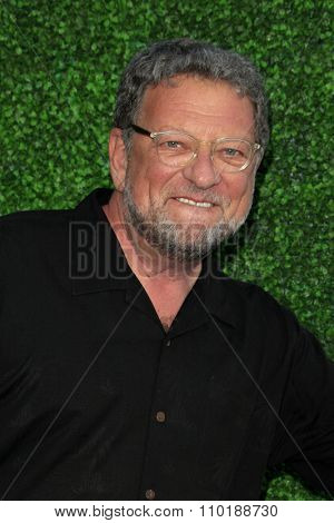 LOS ANGELES - JUL 30:  Charley Steiner at the Clayton Kershaw's 3rd Annual Ping Pong 4 Purpose at the Dodger Stadium on July 30, 2015in Los Angeles, CA