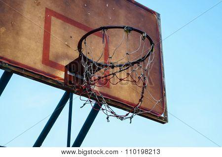 Old Basketball Hoop