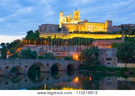 Beziers In A Summer Evening