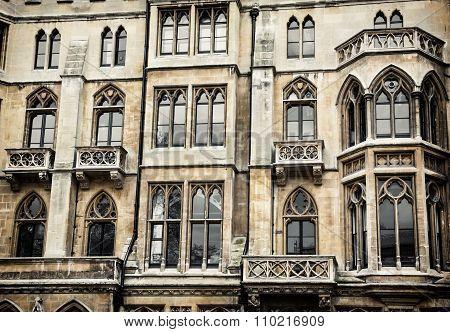 Closeup Photo Of Westminster Palace, London