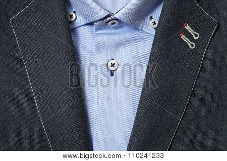 Elegant man fashion background